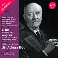 エルガー:交響曲第2番、ワーグナー:『タンホイザー』序曲とヴェーヌスベルクの音楽 ボールト&BBC響(1977、68 ステレオ)