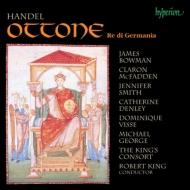 『オットーネ』全曲 キング&キングズ・コンソート、ボウマン、ヴィス、他(1993 ステレオ)(3CD)