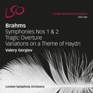 交響曲第1番、第2番、悲劇的序曲、ハイドン変奏曲 ゲルギエフ&ロンドン響(2SACD)