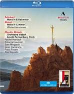 シューベルト:ミサ第6番、モーツァルト:『孤児院ミサ』 アバド&モーツァルト管弦楽団、アルノルト・シェーンベルク合唱団、他