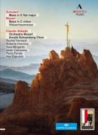 シューベルト:ミサ第6番、モーツァルト:『孤児院ミサ』 アバド&モーツァルト管弦楽団、アルノルト・シェーンベルク合唱団、他(2DVD)
