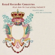 Royal Recorder Concertos-court Of King Frederik 5: Roed(Rec)Arte Dei Suonatori