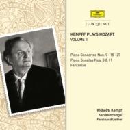 ピアノ協奏曲第9、15、27番、ピアノ・ソナタ第8番、第11番、他 ケンプ、ミュンヒンガー&シュトゥットガルト室内管、ライトナー&ベルリン・フィル(2CD)