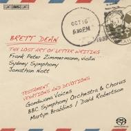 ヴァイオリン協奏曲、12のヴィオラのための『遺書』、『無念と愛情』 F.P.ツィンマーマン、ノット&シドニー響、D.ロバートソン&BBC響、他