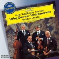 チャイコフスキー:弦楽四重奏曲第1番、スメタナ:『わが生涯より』、ヴェルディ:弦楽四重奏曲 アマデウス四重奏団