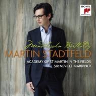 ピアノ協奏曲第1番、無言歌集、厳格な変奏曲 シュタットフェルト、マリナー&アカデミー室内管