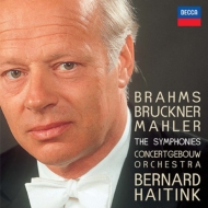 Brahms, Bruckner, Mahler : Complete Symphonies : Haitink / Concertgebouw Orchestra (1962-80)(23CD)