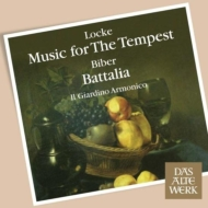 『戦いと嵐〜ロック:テンペストのための音楽、ビーバー:戦闘、他』 アントニーニ&イル・ジャルディーノ・アルモニコ