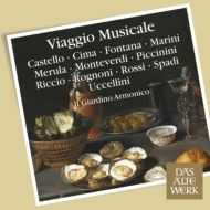 Baroque Classical/Il Giardino Armonico: Viggio Musicale-italian Music Of The 17th Century