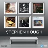 モーツァルト:ピアノ協奏曲第21番、ブラームス:ピアノ協奏曲第2番、リスト:スペイン狂詩曲、シューマン:幻想曲、他 スティーヴン・ハフ(5CD)