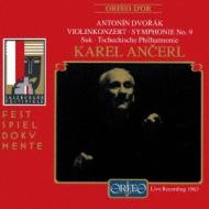 Sym.9, Violin Conerto: Ancerl / Czech.po, Suk(Vn)Salzburg Live