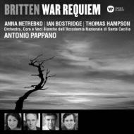 War Requiem: Pappano / St Cecilia Academic O & Cho Netrebko Bostridge Hampson