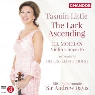 『揚げひばり〜20世紀イギリスのヴァイオリン作品集』 タスミン・リトル、アンドルー・デイヴィス&BBCフィル
