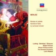 ロメオとジュリエット、イタリアのハロルド、ローマの謝肉祭 マゼール&ウィーン・フィル、クリーヴランド管、ルートヴィヒ、ギャウロフ、他(2CD)