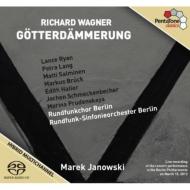 『神々の黄昏』全曲 ヤノフスキ&ベルリン放送響、ライアン、P.ラング、サルミネン、他(2013 ステレオ)(4SACD)