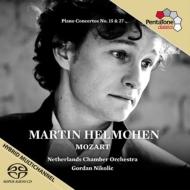 ピアノ協奏曲第27番、第15番 ヘルムヘン、ニコリッチ&オランダ室内管