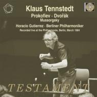 ドヴォルザーク:交響曲第9番『新世界より』、プロコフィエフ、他 クラウス・テンシュテット&ベルリン・フィル、グティエレス(1984年ステレオ・ライヴ)(2CD)