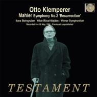 交響曲第2番『復活』 オットー・クレンペラー&ウィーン交響楽団(1951年ライヴ)(2CD オリジナル・モノラル+アンビエント・マスタリング)