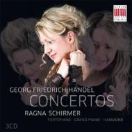 オルガン協奏曲集 ラグナ・シルマー(フォルテピアノ、ピアノ、ハモンドオルガン)、ハレ・ヘンデル祝祭管、他(3CD)
