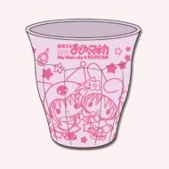 魔法少女 まどか☆マギカ マイメロディ&クロミ メラミンプラカップ パープル