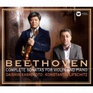 ヴァイオリン・ソナタ全集 樫本大進、リフシッツ(日本盤のみボーナス・トラック付)(4HQCD+DVD)