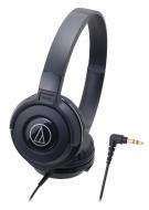 オーディオテクニカ ポータブルヘッドホン ATH-S100 BK (ブラック)