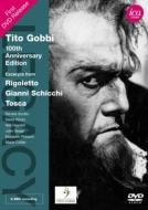ヴェルディ:『リゴレット』より、プッチーニ:『トスカ』より、『ジャンニ・スキッキ』より ゴッビ、スコット、コリアー、ダウンズ指揮(1965)