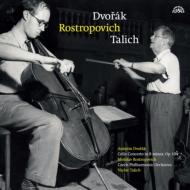 チェロ協奏曲:ムスティスラフ・ロストロポーヴィチ(チェロ)、ヴァーツラフ・ターリヒ指揮&チェコ・フィルハーモニー管弦楽団 (180グラム重量盤レコード/Supraphon)