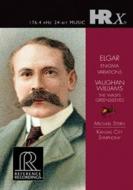 エルガー:エニグマ変奏曲、ヴォーン・ウィリアムズ:グリーンスリーヴズ幻想曲、『すずめばち』組曲 M.スターン&カンザスシティ響(音声DVD-R)