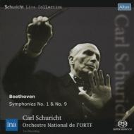 交響曲第9番『合唱』、第1番 シューリヒト&フランス国立放送管弦楽団(1965 ステレオ)(シングルレイヤー)