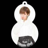 岡井千聖『ゆきだるまキーホルダー+L判生写真』/℃-UTE