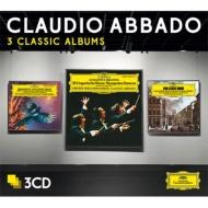 アバド〜3 Classic Albums(ブラームス、ロッシーニ、ヴェルディ)(3CD)