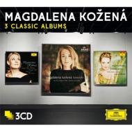 コジェナー〜3 Classic Albums(バッハ・ファミリー、フランス・オペラ・アリア、チェコ歌曲)(3CD)