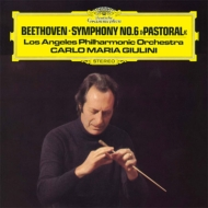 Beethoven Symphony No.6, Schumann Manfred Overture : Giulini / Los Angeles Philharmonic