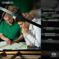 ベートーヴェン:ピアノ協奏曲第3番、モーツァルト:ピアノ協奏曲第24番 エフゲニー・スドビン、オスモ・ヴァンスカ&ミネソタ管弦楽団