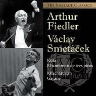 プロコフィエフ:交響曲第7番(マルコ指揮)、ハチャトゥリアン:『ガイーヌ』より(スメターチェク指揮)、ファリャ:『三角帽子』より(フィードラー指揮) 東響