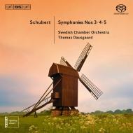 交響曲第3番、第4番『悲劇的』、第5番 ダウスゴー&スウェーデン室内管弦楽団