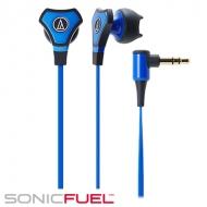オーディオテクニカ:インナーイヤーヘッドホンATH-CHX5 BL(ブルー)