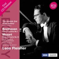 ベートーヴェン:ピアノ協奏曲第1番、モーツァルト:ピアノ協奏曲第12番 フライシャー、クリュイタンス、G.L.ヨッフム、ケルン放送響(1960、57)