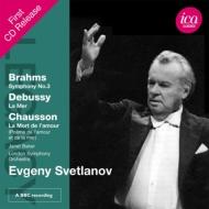 ブラームス:交響曲第3番、ドビュッシー:『海』、他 スヴェトラーノフ&ロンドン響(1975 ステレオ)