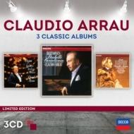 アラウ〜3 Classic Albums〜ベートーヴェン、ショパン、リスト(3CD)