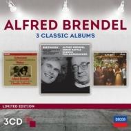 ブレンデル〜3 Classic Albums〜ベートーヴェン、シューマン、ウェーバー、シューベルト(3CD)
