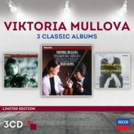 ムローヴァ〜3 Classic Albums〜チャイコフスキー、シベリウス、ブラームス、バルトーク、ストラヴィンスキー(3CD)
