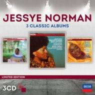 ジェシー・ノーマン〜3 Classic Albums〜リヒャルト・シュトラウス、ワーグナー、ベルリオーズ、ラヴェル(3CD)