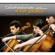 Cello Passionato-4 For Peace: Julius & Hyun-jung Berger Cello Passionato