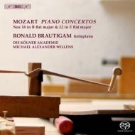 ピアノ協奏曲第22番、第18番 ブラウティハム、ウィレンズ&ケルン・アカデミー