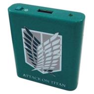 進撃の巨人 USB出力電池式充電池 A