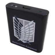 進撃の巨人 USB出力電池式充電池 B