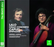 ラロ:チェロ協奏曲、カプレ:『エピファニー』 ロデオン、デュトワ&フィルハーモニア管