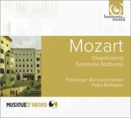 『セレナータ・ノットゥルナ』、3つのディヴェルティメント ミュレヤンス&フライブルク・バロック管